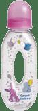 CANPOL BABIES Butelka z dziurką 250ml bez BPA- różowa