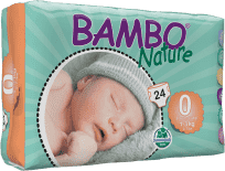 BAMBO Nature Premature (1-3kg) 24ks - jednorázové plienky