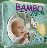 BAMBO Nature Midi (5-9kg) 33ks - jednorázové pleny