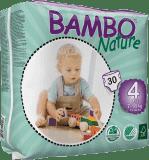 BAMBO Nature Maxi (7-18kg) 30ks - jednorázové plienky