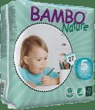 BAMBO Nature Junior (12-22kg) 27 szt. - pieluszki jednorazowe