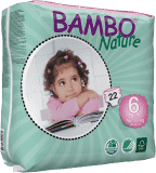BAMBO Nature XL (16-30kg) 22ks - jednorázové plienky