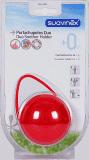 SUAVINEX Duo krabička na dudlíky - červená