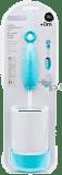 SUAVINEX Čistící kartáček na kojenecké láhve duo s držadlem - modrá