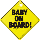 SAFETY 1ST Dieťa v aute - štítok