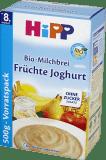 HiPP BIO Na Dobranoc (500g) Kaszka mleczno - zbożowa Owoce Jogurt 8m+