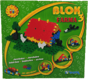 VISTA Klocki Blok 3 Farma – plastik 197 szt.