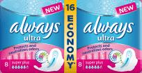 ALWAYS Ultra DUO Super Plus (16 ks) – dámske vložky