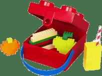 LEGO® Lunch Box z uchwytem 166x165x117mm – niebieski