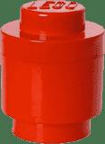 LEGO® Box do przechowywania okrągły 12x18cm – czerwony