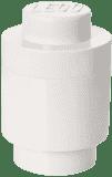 LEGO® Box do przechowywania okrągły 12x18cm – biały