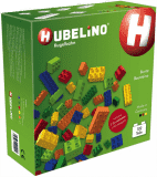 HUBELINO Kuličková dráha - kostky barevné 102ks