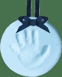 PEARHEAD Odtlačok nožičky závesná ozdoba modrý