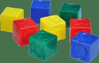 CHEMOPLAST Kocky kubus PH - plast 8ks