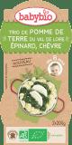 BABYBIO Zemiaky so špenátom, paštrnákom a kozím syrom (2x200g) – zeleninový príkrm