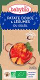 2x BABYBIO Słodkie ziemniaczki z letnimi warzywami 8m+ (200 g)