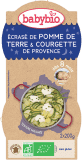 BABYBIO Zemiaky s cuketou, creme fraiche a parmezánom (2x200g) – zeleninový príkrm