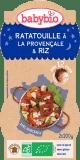 2x BABYBIO Večerní menu ratatouille po provensálsku s rýží 200 g