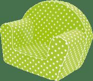 BINO Fotelik – zielony