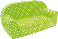 BINO Mini pohovka - zelená