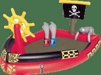BESTWAY Nafukovací bazén - pirátska loď, 190 x 140 x 96 cm