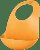 AVENT Śliniak plastikowy z kieszonką – pomarańczowy