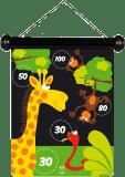 Scratch Magnetyczne Rzutki Zoo,