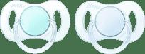 AVENT Smoczek Mini 2szt. (silikon) 0-2m – chłopczyk
