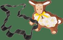 TESCOMA Forma na pečení/vykrajovátko ovečka DELÍCIA