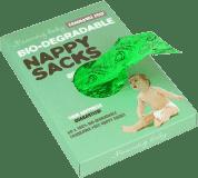 BEAMING BABY Organické sáčky na použité plenky bez vůně, 60 ks