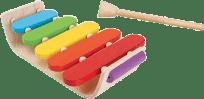 PLAN TOYS Oválny xylofón
