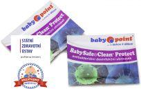 BABYPOINT Dezinfekčný vlhčený obrúsok BabySafe&Clean Protect