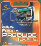 GILLETTE Fusion ProGlide Power 8 ks - náhradní hlavice
