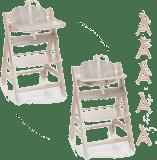 HAUCK Jídelní židlička Beta+B whitewashed 2017