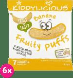 6x KIDDYLICIOUS Chrupki – Banan 10 g
