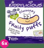 6x KIDDYLICIOUS Chrupki – Jagoda 10 g