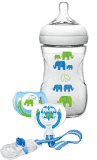 AVENT Sada Natural 1m+, 260 ml (PP) Slon – chlapec