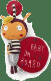 MAMAS & PAPAS Beruška Baby on Board s přísavkou