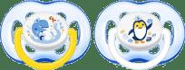 AVENT Smoczek Sensitive 2 szt. (silikon) 18m+ – niebieski