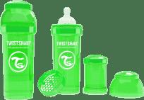 TWISTSHAKE Antikoliková láhev 260ml Zelená