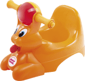 OK BABY Nočník Spidy - oranžový