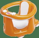 OK BABY Siedzisko do wanny Flipper Evolution – pomarańczowy