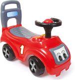 DOLU Jeździk autko z oparciem – czerwony