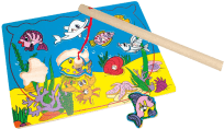 BINO Puzzle - magnetické akvárium 11 ks