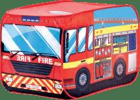 BINO Dziecięcy namiot - Wóz strażacki