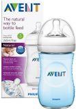 AVENT Kojenecká láhev Natural 260 ml + Natural 260 ml modrá