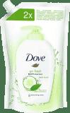 DOVE tekuté mýdlo svěží dotek (náhradní náplň), 500 ml
