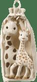 VULLI Set plyšová žirafa Sophie + žirafa Sophie