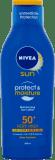 NIVEA SUN Protect & Moiture hydratační mléko na opalování OF50 + 200 ml