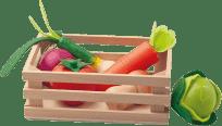 WOODY Prepravka so zeleninou